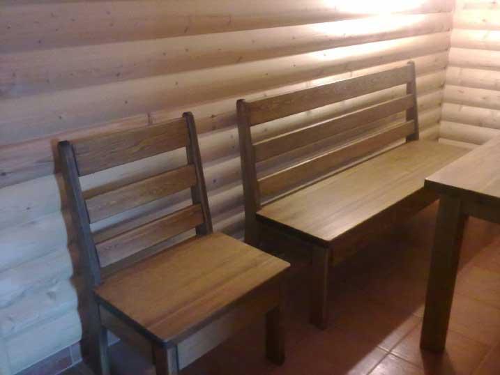 Сосновый стул